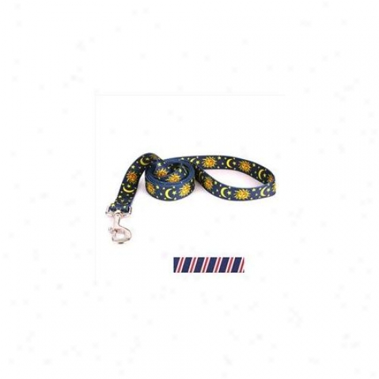 Yellow Dog Design Tsrwb105ld 3/4 Inch X 60 Inch Team Spirit Red, White And Navy Blue Lead