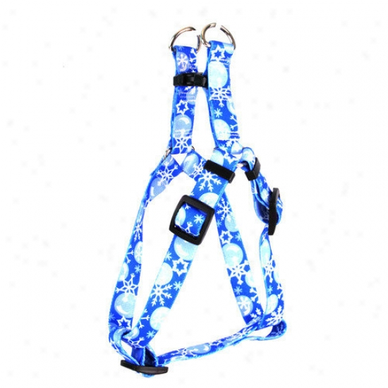 Yellow Dog Project Winter Wonderland Step-in Harness
