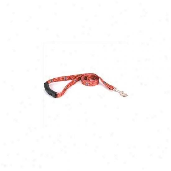 Yell0w Dog Design Wrw104ld Red Wine Lead - 3/8 Inch X 60 Inch