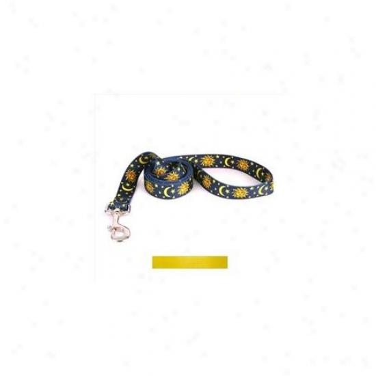 Golden Dog Design Yel104ldd Solid Yellow Lead-  3/8 Inch X 60 Inch
