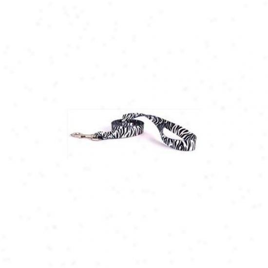 Yellow Dog Purpose Zb106ld 1 Inch X 60 Inch - Zebra Black Lead