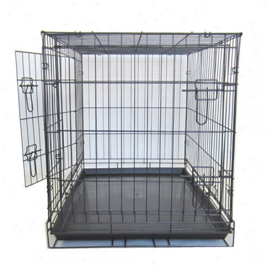 Yml Double Door Dog Kennel Cage