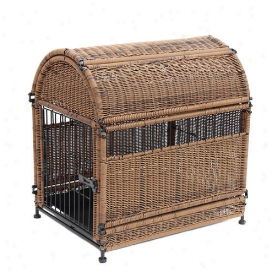Zest Candle Wicker Rotation Top Dog House