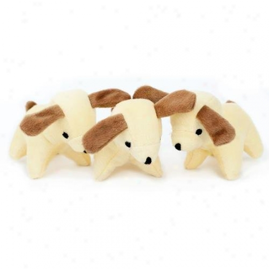 Zippypaws Burrow Refill Pack Of 3 Small Squeaky Dog Toys Dogs Xl
