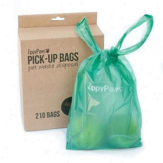 Zippypaws Dog Poop Pick-up Bags 210-count