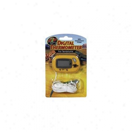 Zoo Med Laboratories - Thermometer For Terrariums - Th-24