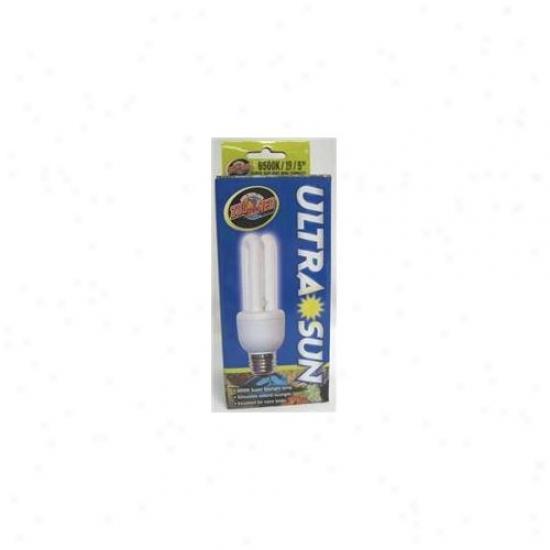 Zoo Med Laboratories - Ultrasun Compact Flourescent Bulb Mini-10 Watt - Ul-cf1