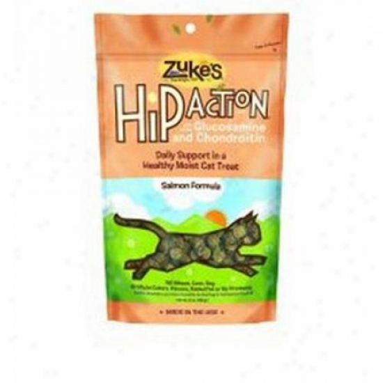 Zuke's Hip Action Natural Cwt Treats Salmon 3 Oz