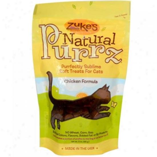 Zuke's Affectionate Purrz Cat Treats Chicken 3 Oz