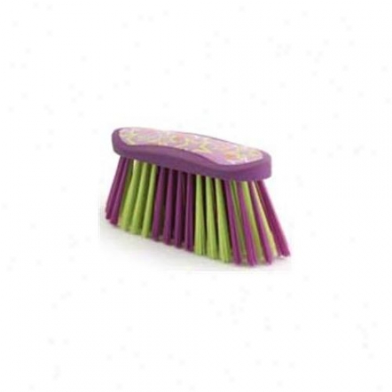 7 Inch Luckystae Flick Brush  - Purple  - 2379-2