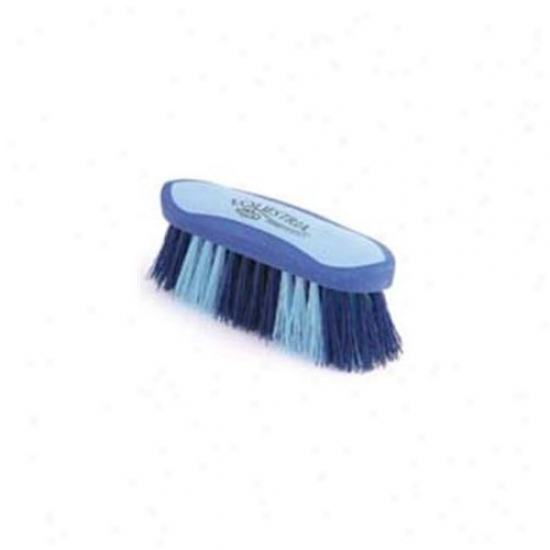 7 Inch Small Equestrian Sport Dandy Brush - Blue  - 2175-3