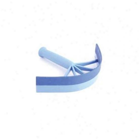7 Inch Small Equestrian Sport Sweat Scraper - Blue  - 2198-3