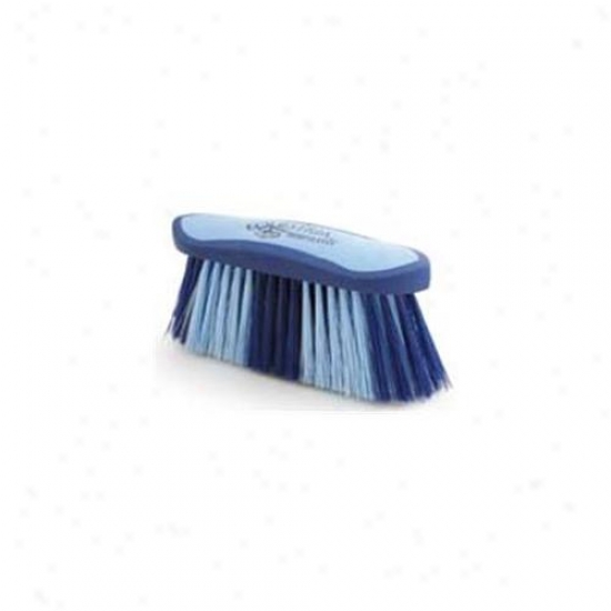 8 Inch Large Equestrian Soort Flick Brush - Blue  - 2178-3