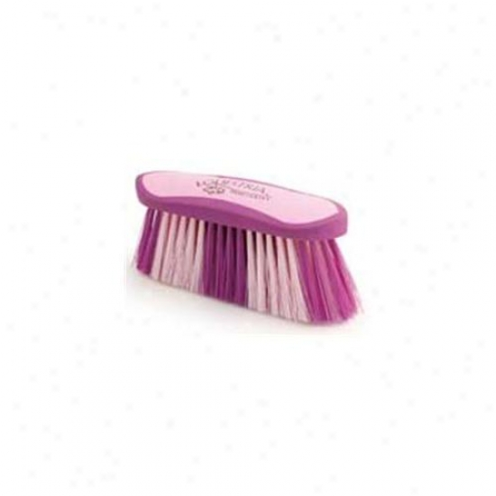 8 Inch Large Equestrian Sport Flick Brush - Purple  - 2178-2