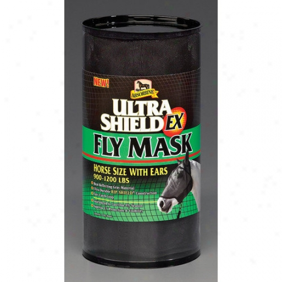 Absorbine Ultrashield Ex Fly Horse Mask