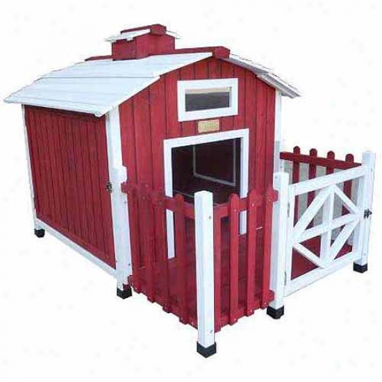 Advantek Country Barn Dog House
