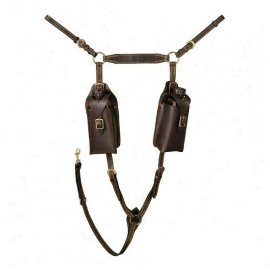 Australian Outrider Aussie Leather Breastplate
