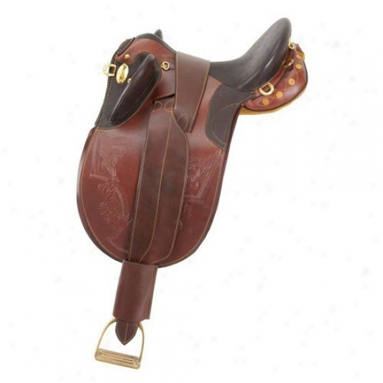 Australian Outrider Collection Stock Poly Saddle Without Horn