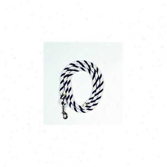 Beiler S & Supply Lead Rope With Snap White 6 Feet  -700-a