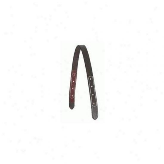Brown Leathrr Halter Crown  - 401355-1420-1647
