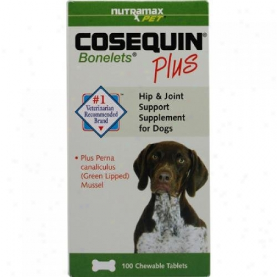 Cosequin Cosequin Bonelets More For Dogs 100 Chewable Tablets