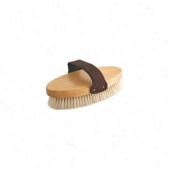 Desert Equestrian Inc - Natural Boar Eng1ish Body Brush 7. 5 Inch - 2280