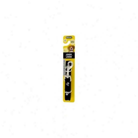 Doskocil - Aspen Pet . 63inch X 5ft..  Black Reflective Leash  27926