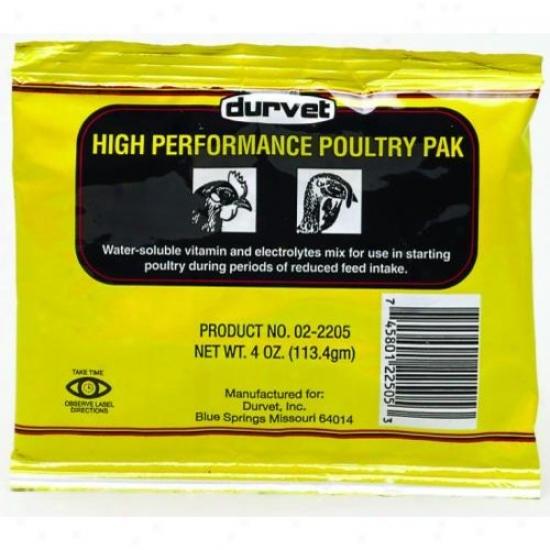 Durvet 002-2505 High Action Poultry Pak