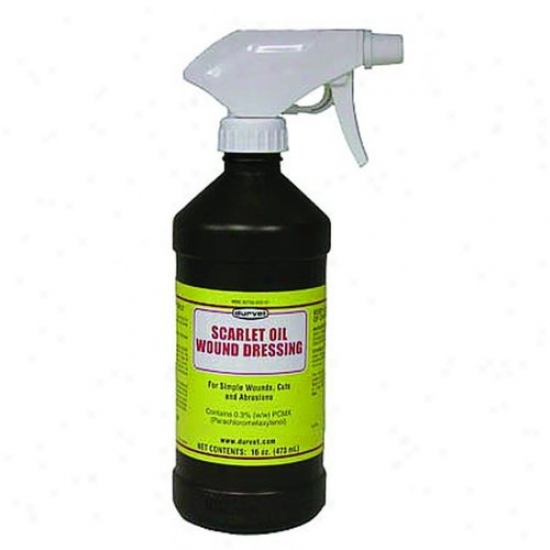 Dufvet 01 Dddl801 Scarlte Oil With Sprayer