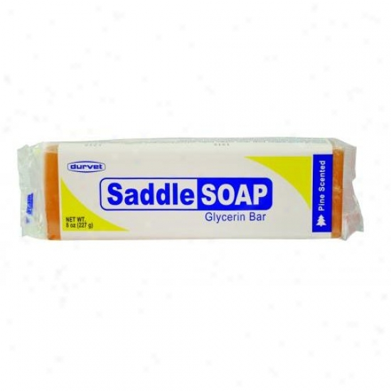 Durvet 011-53700 Saddle Soap Glycerin Bar