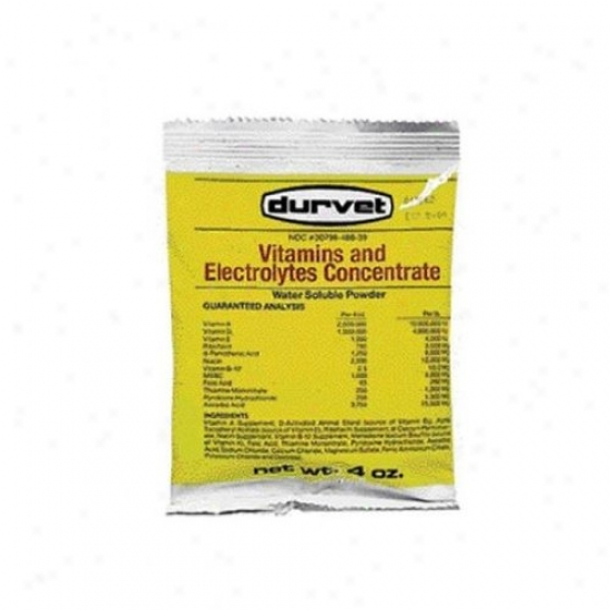 Durvet 02 Dth2501 Vitamins And Electrolytes Cobc