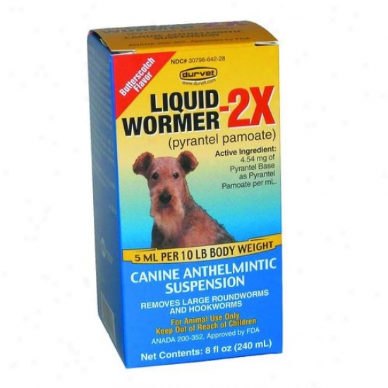 Durvet 11-1171 Liquid Wormer 2x