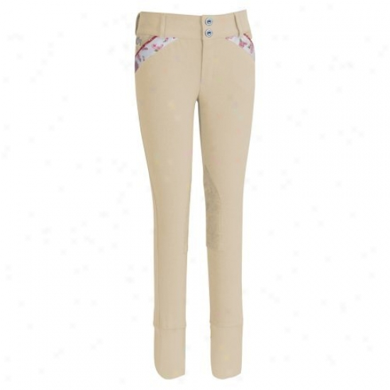 Ewuine Couture Childrens Bindia Knee Patch Breeches
