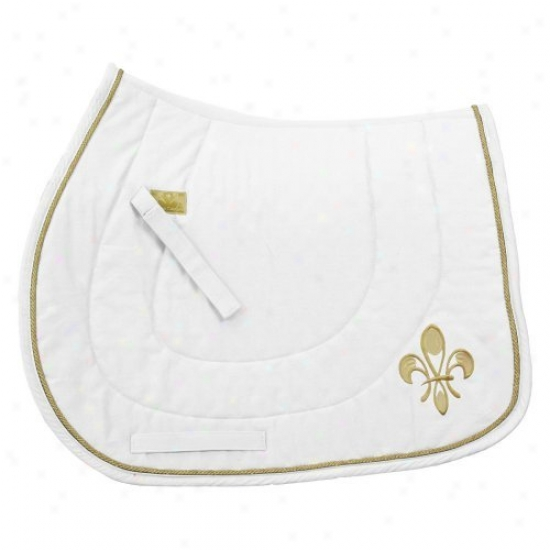 Equine Couture Fleu-de-lis All Purpose Saddle Pad