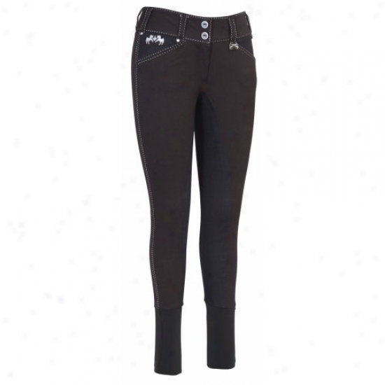 Eqiune Couture Ladies Blakely Full Seat Breeches