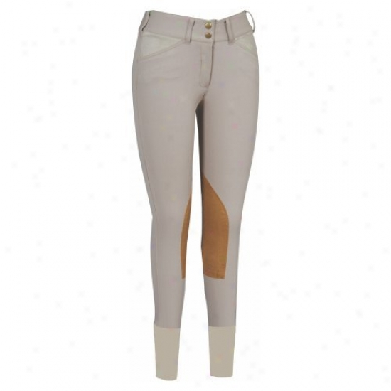 Equine Couture Ladies Coolmax Champion Front Zip Breeches
