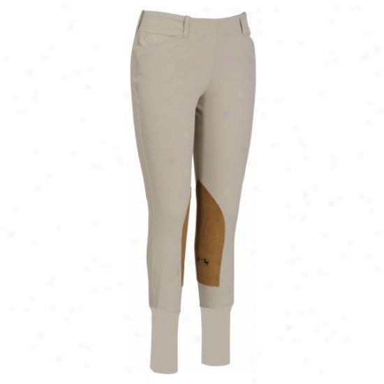 Equine Couture Ladies Coolmax Champion Side Zip Breeches