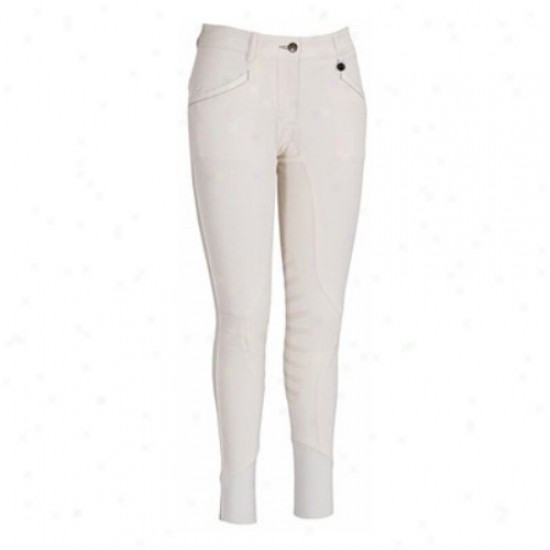 Equine Couture Ladies Ingate Knee Patch Breeches