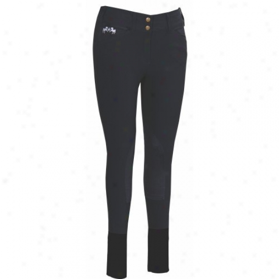 Equine Couture Ladies Regatta Knee Patch Breeches