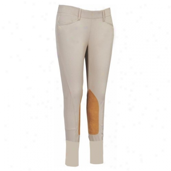 Equine Couture Safari Ladies Coolmax Champion Side Zip Breeches