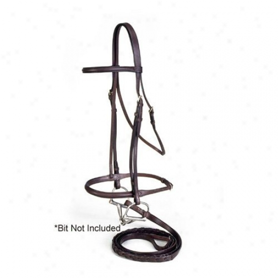 Equiroyal Brown Raised English Bridle