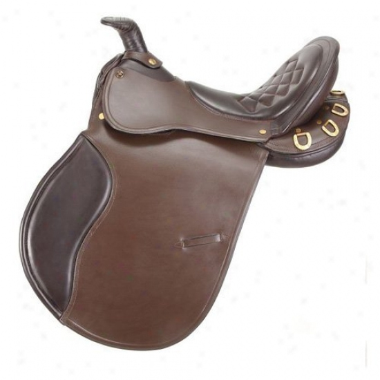 Equiroyal Comfort Draw Saddle With Horn