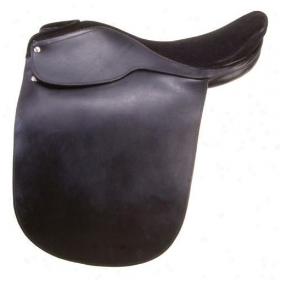 Equiroyal Liberty Alley Fox Suede Saddle