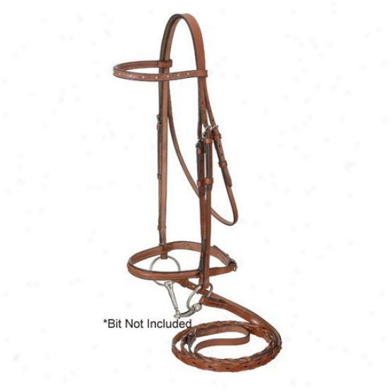 Equiroyal Raised Snaffle English Bridle