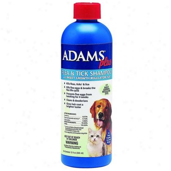 Farnam 100503441 Adams Plus Fl/tk Shampoo W/igr