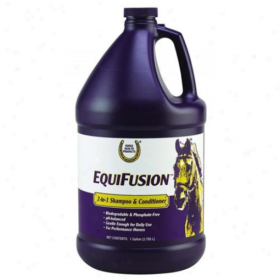 Farnam 100505216 Equifusion 2-in-1 Shampoo And Conditikner
