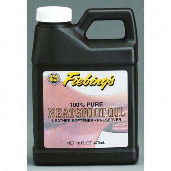 Fiebing 088-30055/pure00p01 100% Pure Neatsfoot Oil