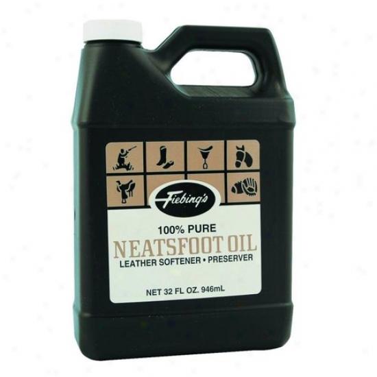 Fiebing 088-30060/pure00p03 100% Pure Neatsfoot Oil