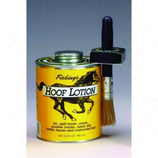 Fiebing 088-30315/hflt00t03 Hoof Lotion W Brush Top Appl.