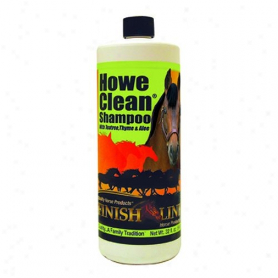 Finish Line 70034 Howe Clean Horse Shampoo